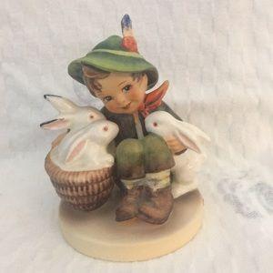 Hummel boy with bunnies named Playmates
